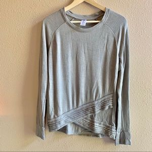 Active Life | Gray Long Sleeve Active Wear Top